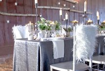 Wedding Decor / Wedding decor crafted out of white birch and basswood - so beautiful!