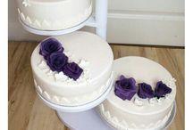 Tårtor på ställning