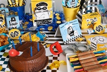 Cops & Robbers Theme Birthday Party Ideas / The police force will catch the bad guys, and lots of fun will be had by all with the new, exclusive theme from BirthdayExpress.