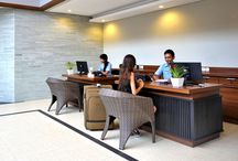 Front Desk & Lobby / Have any questions? Our staff and front desk are always there to help you!