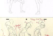 体の動きイラスト