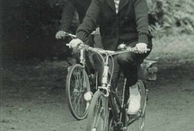 Famous on a bicycle