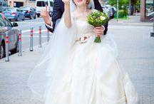 Свадебное платье в старо-английском стиле