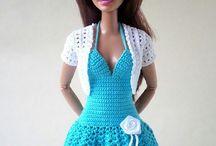 Crochê Moda Barbie