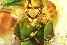 Legend of Z-LINK!! / Zelda  / by Eriq Well
