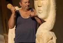 Kosza Endre fafaragó / Fafaragás .Wood. Wood Carving.   kendrefa@gmail.com