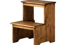 Accesorios rústicos / Accesorios rústicos para el hogar. Muebles de madera maciza