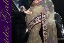 Zarine Khan Saree 2013