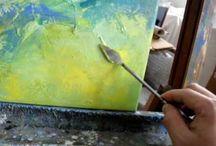 Abstrakt maling