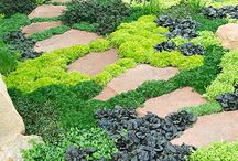 Trädgårdsgolv