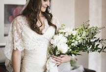 Over Arm Bridal Bouquets