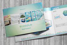 ECOCOLD / ECOCOLD için yapmış olduğumuz Responsive Web Sitesi Tasarımı & Kurumsal Katalog Tasarımı..