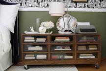 Bedroom & Nightstand Upcycle