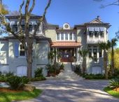 Exterior Architecture by Group 3 / Exterior photography of homes designed by Group 3 in Hilton Head, SC.
