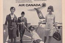 Vintage Ads - Affiches et publicités / by Air Canada Official - Officiel