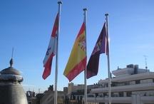 Banderas en Edificios