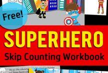 Super Hero Themed Unit