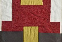 TextilArt by Atelier Sommer / Fabric, Yarn sewn, wrapped, draped, woven... united in one picture