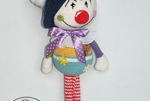Crochet Clowns