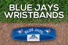 Toronto Blue Jays MLB Wristbands and Fan Gear / Shop for Toronto Blue Jays MLB wristbands and fan gear. Find your teams MLB bracelets and gear at Skootz! http://www.skootz.com/