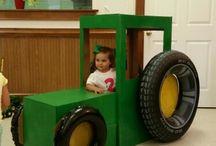 Traktor játék