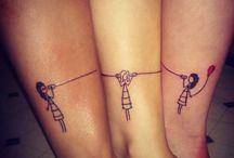 Tatuagens irmãs