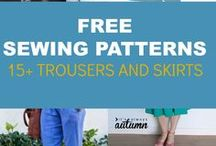 trousers & skirts sewing patterns