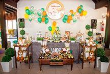 Festa Safari / Lindas ideias para decoração de festa infantil com tema Safari