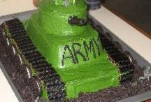 Army cakes