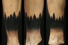 Tatuaggi a tema foresta