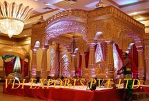 WEDDING MANDAPS / We are the manufacturers of Indian wedding mandaps,stages, horse carriages, furniture and decor items. Visit our website for latest range www.vdiexports.com