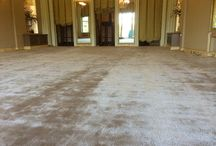 Embassy In Luxury Carpet / Client: Embassy in London. Brief: To supply & install luxury Thai carpet to main dining area.