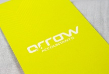 Arrow Accounting / Arrow Accounting // logo design, brand identity, stationery, signage