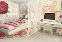 Sims 4 Rooms / Sims 4 rooms: livingrooms, diningrooms, bathrooms, bedrooms, kitchens....