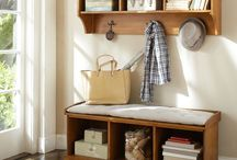 wall where dresser is