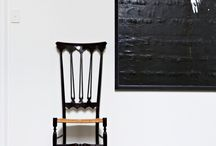 Chair as sculpture / Looking at chairs as sculptural elements in home decor.