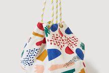 Tote bag memphis design