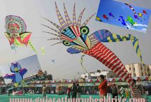 Gujarat Kite Festival / Gujarat tourism packages have supported this colourful Kite festival as these tour packages drove thousand of tourist to the state every year. Don't miss this chance!!