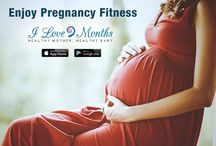 Enjoy Pregnancy Tips / Enjoy a healthy and fit #pregnancy with specialized 108 prenatal exercise routine videos. The workout routines range from 9-15 minutes and consist of a variety of workouts for the #pregnant woman ranging from, strength training, pilates, barre and yoga. Download the Ilove9months mobile app and enjoy all the benefits at home or at work!