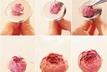 flores de glacé