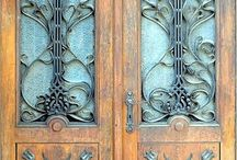 Home Decor - First Impression - Amazing Doors / by Suzanne Barrow