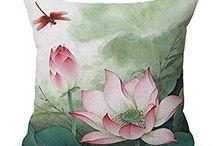 Chinese style pillowcase on Amazon