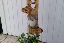 dekorace z přírodnin