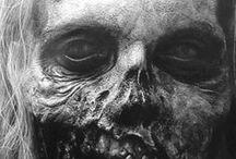 Death make-up sfx