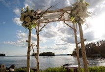 Altar/Arch/Chuppah / Ceremony focal point / by Pearl Event Planning