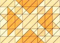 Continuous Line Stitching / There is life beyond free motion quilting! / by Cyndy Huntington
