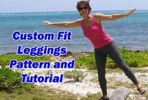 Custom Fit Legging,Pattern and Tutorial