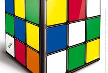 Rubik's Cube Mini Fridge / Introducing the new-yet-definitely-retro Husky Rubik's Cube Mini Fridge. With official Rubik's Cube branding, this mini fridge looks just like the iconic 80's puzzle, but to solve this giant version you simply open the door and fill it with your favourite food and drinks. It's perfect for any home, home office, childs bedroom or man cave.  A+ energy rating.
