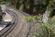 Kalka–Shimla Railway / *** Kalka–Shimla Railway*** --The UNESCO World Heritage --- The Kalka Shimla toy train -Mountain Railways of India , Provides one of the most scenic train journeys in India, and is like traveling back in time. On July 7, 2008, the Kalka–Shimla Railway was included in the UNESCO World Heritage List as part of the World Heritage Site Mountain Railways of India