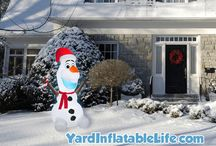 Yard Inflatables / All about the best yard inflatables for different holiday seasons.